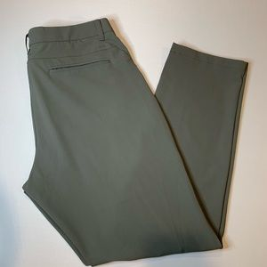 Men's Bonobos Golf Athletic Fit Pants Olive Green